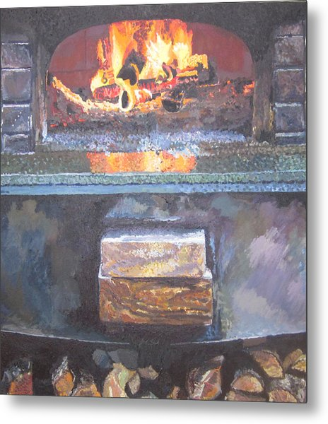 A16 Oven Metal Print by Kendal Greer