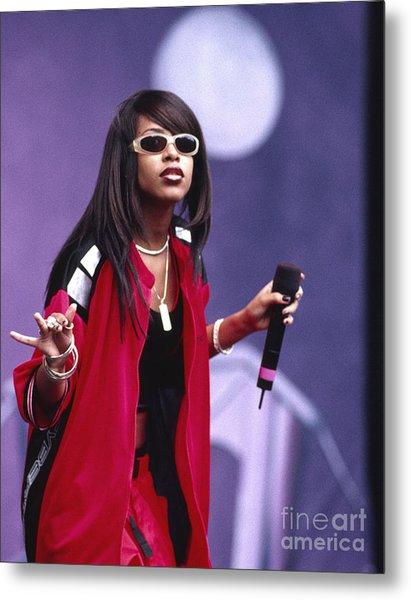 Aaliyah 1997 Metal Print