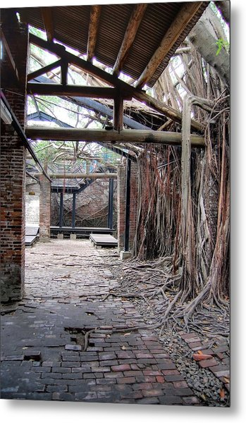 Abandon Warehouse  Metal Print