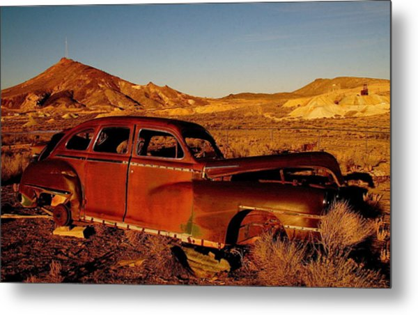 Abandoned And Forgotten Metal Print
