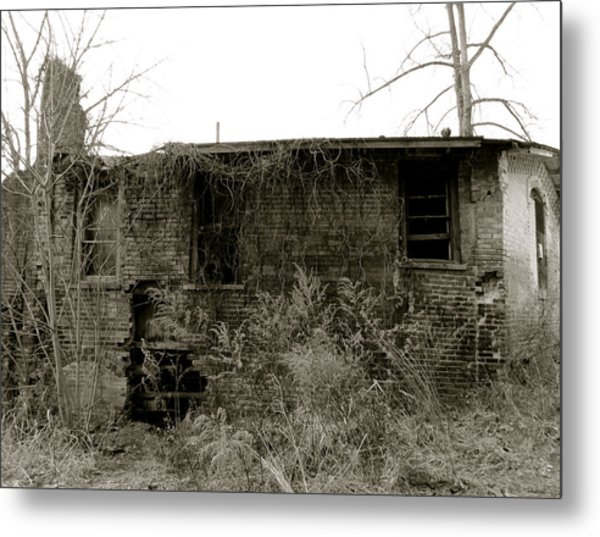 Abandoned Factory Metal Print by Azthet Photography