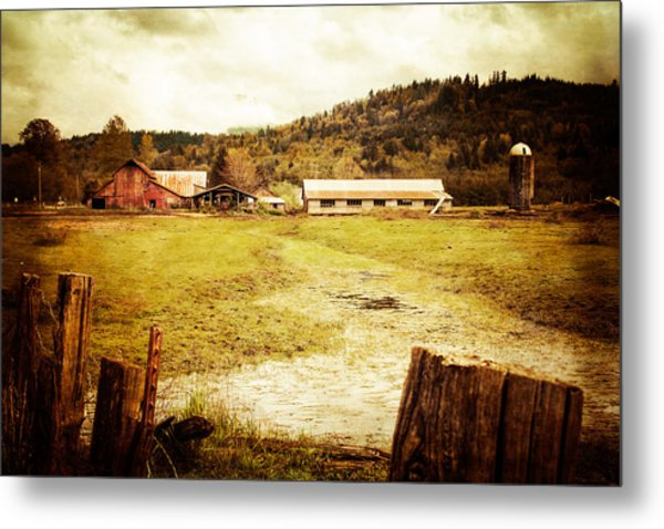 Abandoned Farm Metal Print