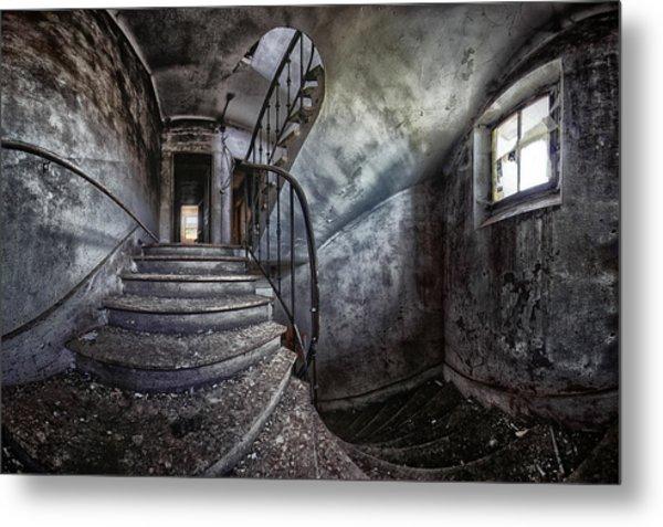 Abandoned House Metal Print