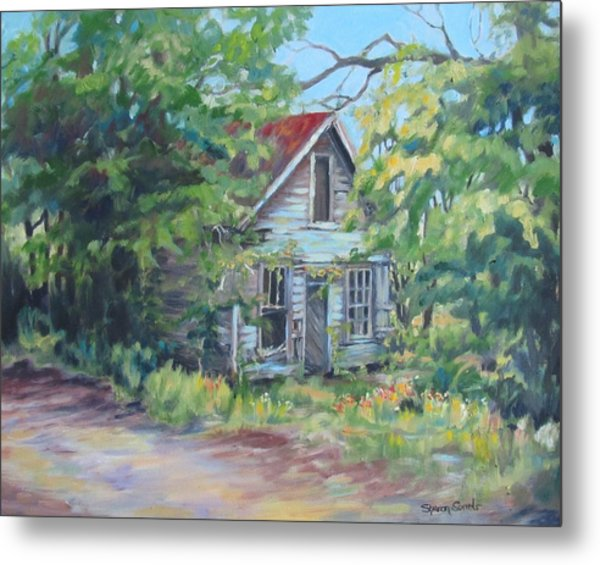 Abandoned House In Galivants Ferry Metal Print