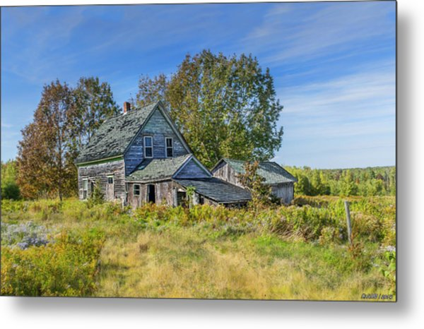 Abandoned House In Wentworth Valley Metal Print