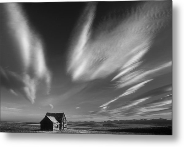 Abandoned In Alberta Metal Print