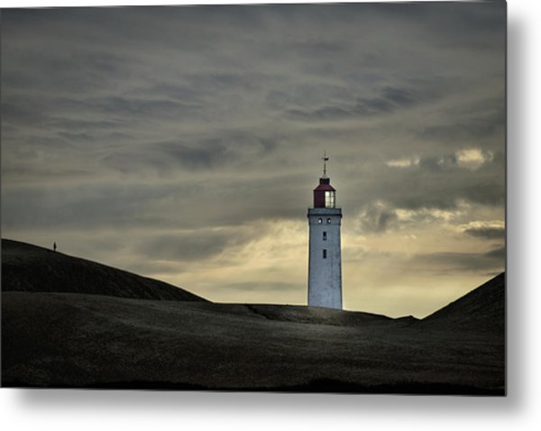 Abandoned Lighthouse Metal Print