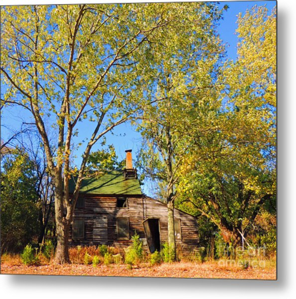 Abandoned Metal Print by Marian DeSalvo-Rodgers