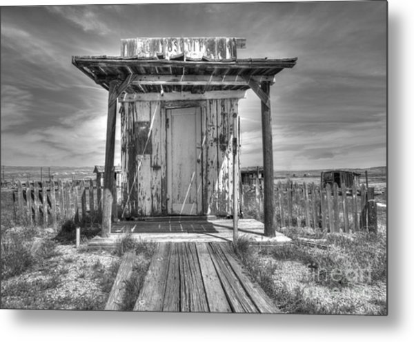 Abandoned Post Office Metal Print