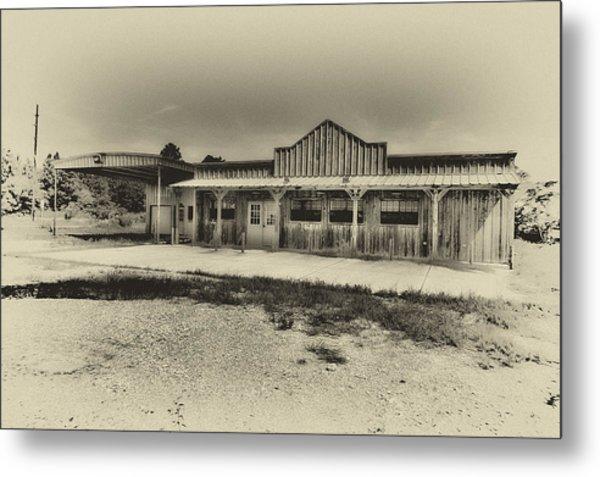 Abandoned Station Metal Print