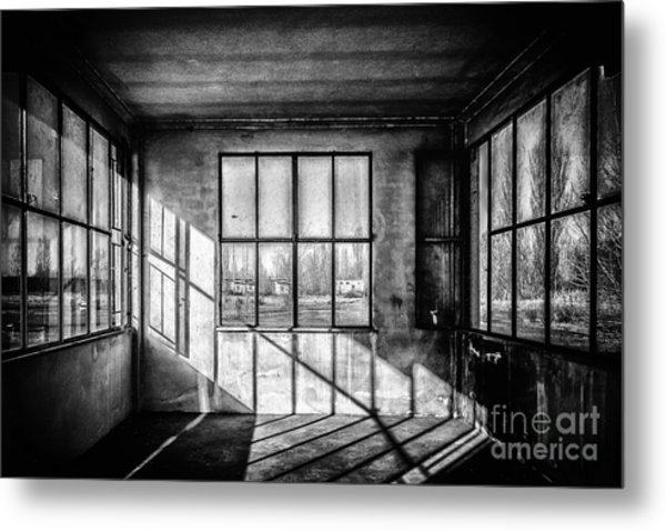Abandoned Sugar Mill Metal Print