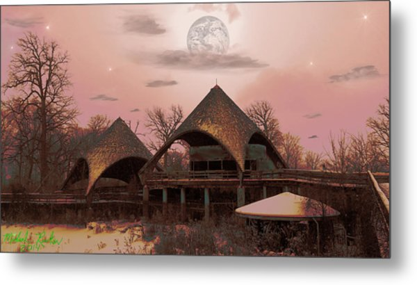 Abandoned Zoo Metal Print