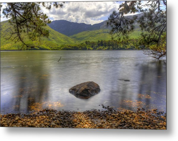 Abbey Lake Metal Print