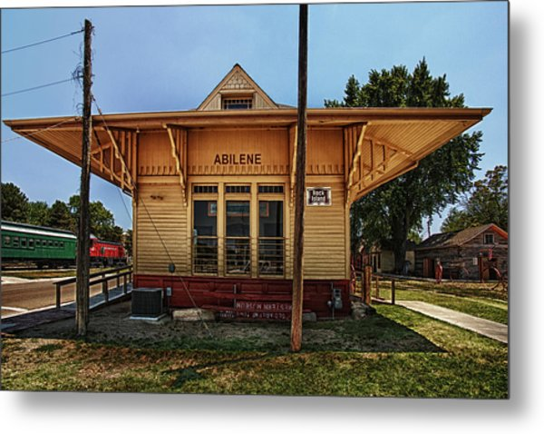 Abilene Station Metal Print