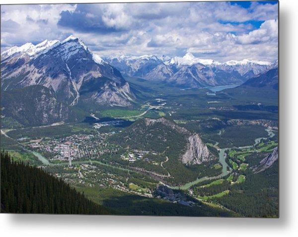 Above Banff Metal Print