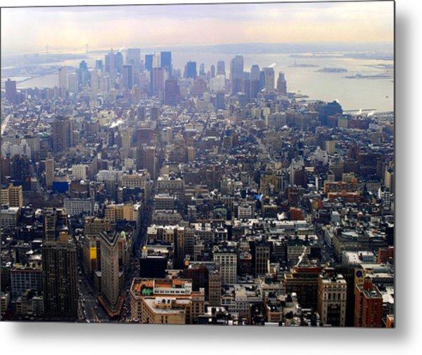 Above New York Metal Print