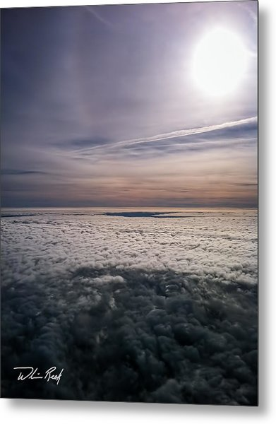 Above The Clouds 2 Metal Print by William Reek