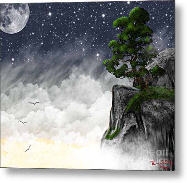 Above The Clouds Metal Print