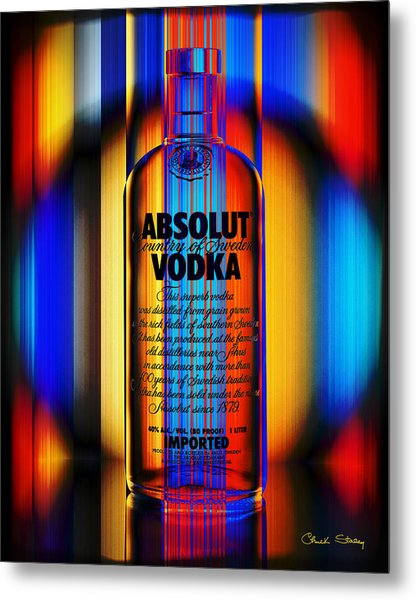 Absolut Abstract Metal Print