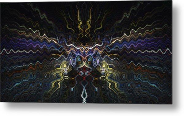 Abstract 0041 Metal Print