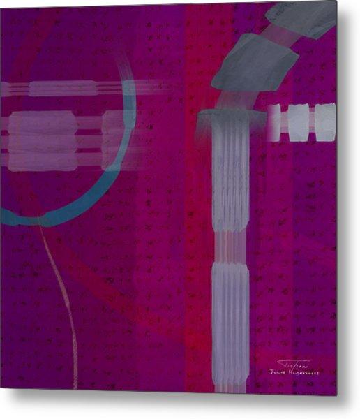 Abstract 01 I Metal Print