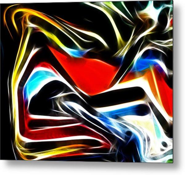 Abstract 018 Metal Print
