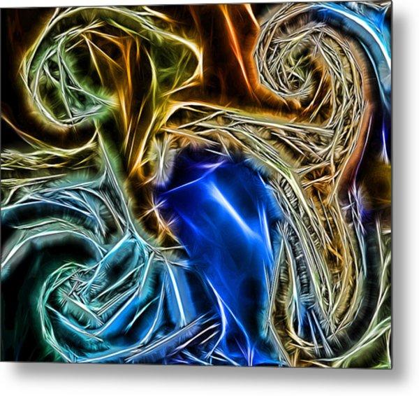 Abstract 020 Metal Print