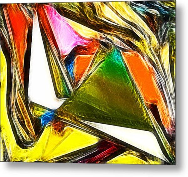 Abstract 028 Metal Print