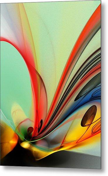 Abstract 040713 Metal Print