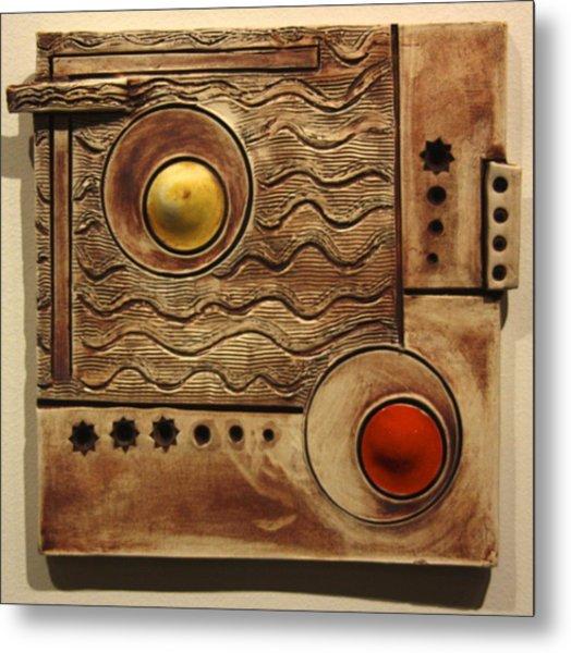Abstract 1 Metal Print by Dan Earle