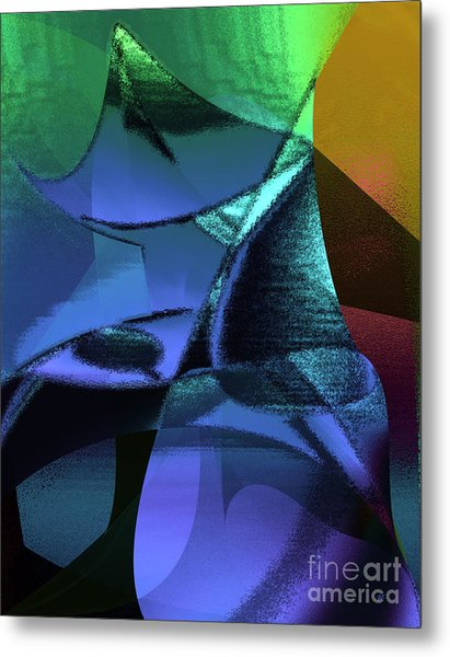 Abstract 1006 Metal Print