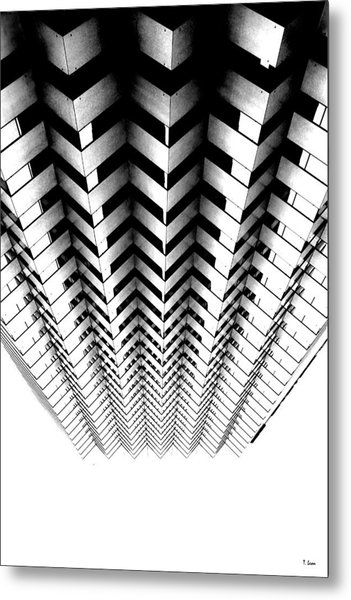 Abstract 4 Metal Print by Thomas Leon