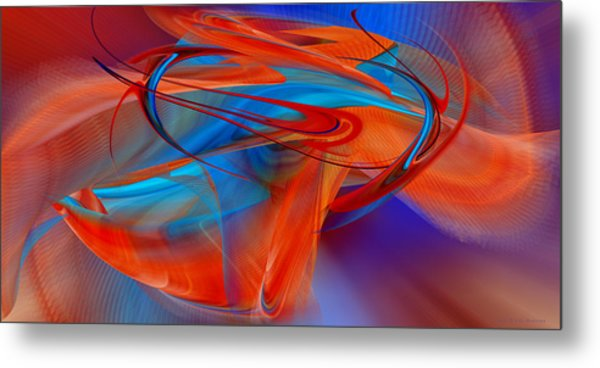 Abstract - Airey Metal Print