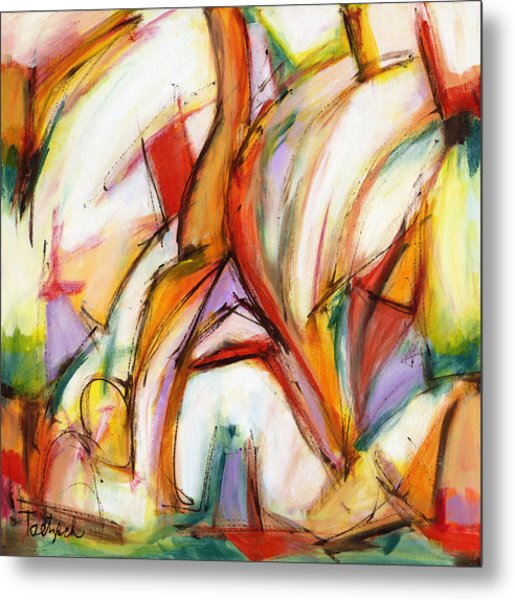 Abstract Art Forty-five Metal Print