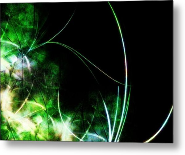 Abstract Metal Print by Cameron Rose