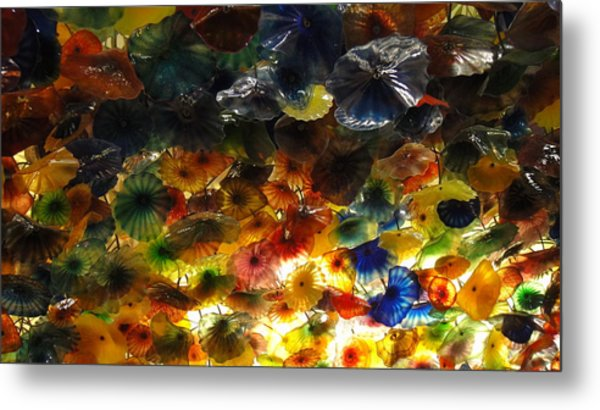 Abstract Color Metal Print by Michael Davis