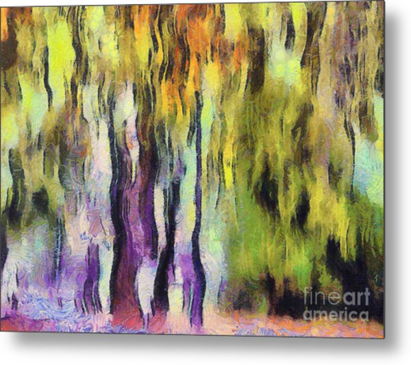 Abstract Colors Metal Print by Odon Czintos