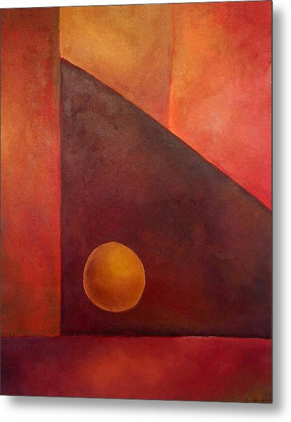 Abstract Composition Metal Print by Kim Cyprian