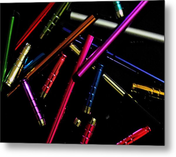 Abstract Elements Metal Print