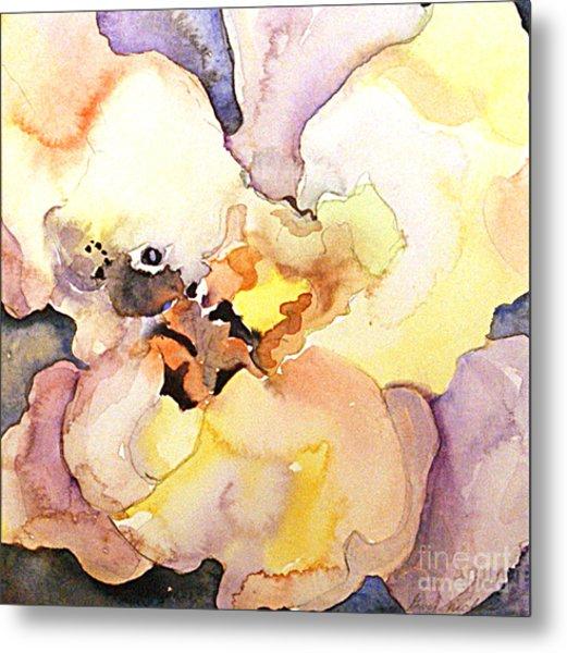 Abstract Flower 8 Metal Print by Gwen Nichols