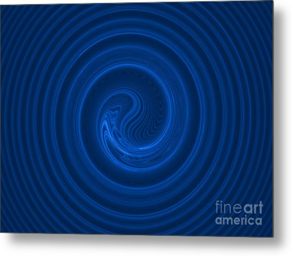 Abstract Fractal Background 02 Metal Print