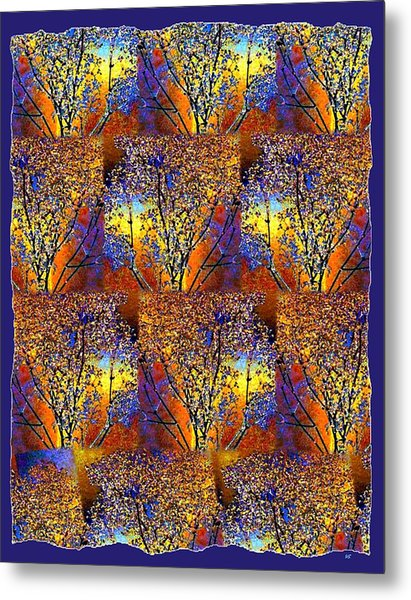 Abstract Fusion 142  Metal Print