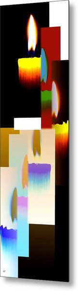 Abstract Fusion 185 Metal Print