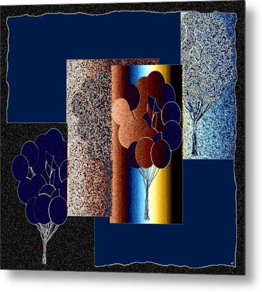 Abstract Fusion 191 Metal Print