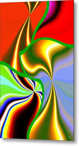 Abstract Fusion 200 Metal Print