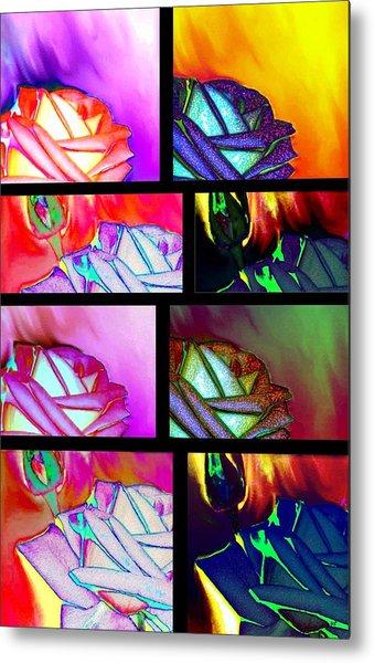 Abstract Fusion 214 Metal Print