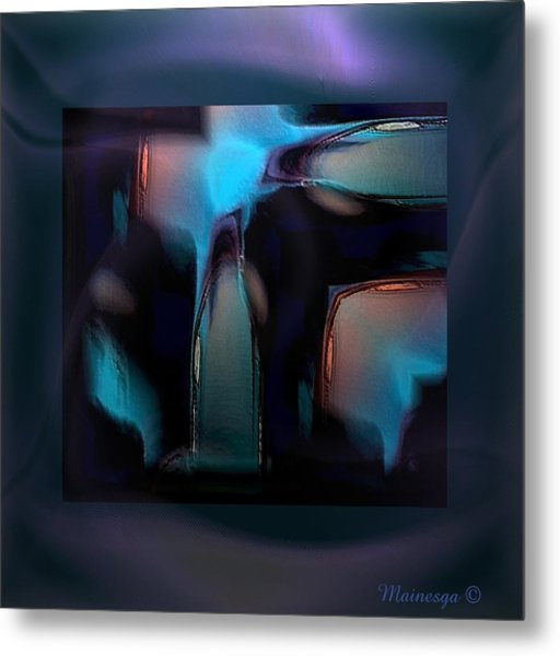 Abstract-g-19 Metal Print
