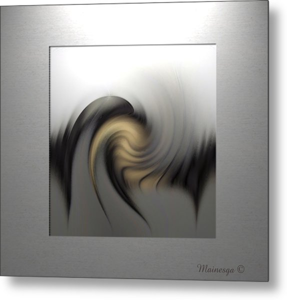 Abstract G-b-g Metal Print
