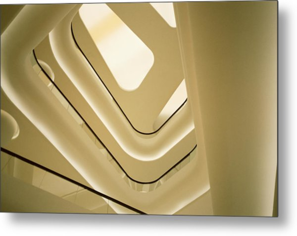 Abstract Geometry Metal Print