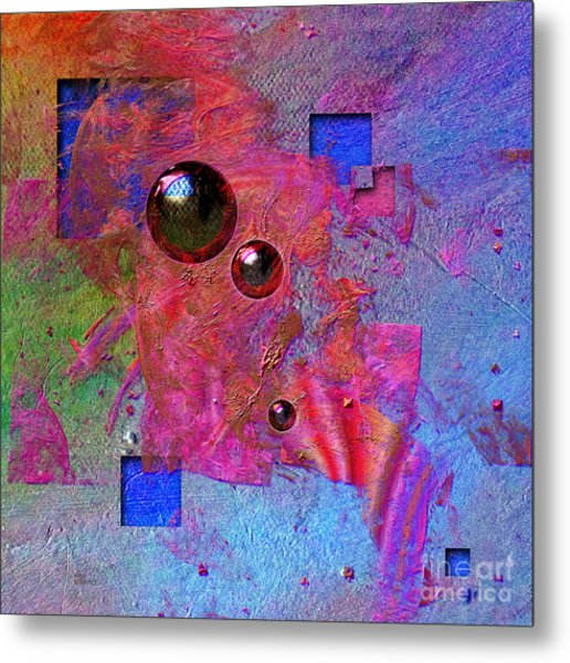 Abstract Messanger Metal Print
